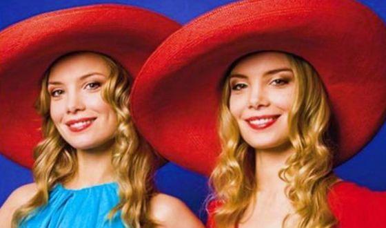 Различить Татьяну Арнтгольц и ее сестру очень сложно