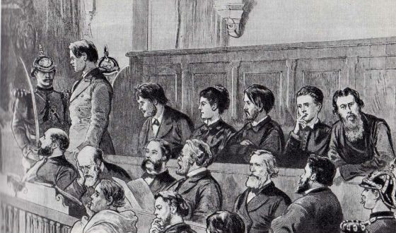 The trial of the citizens of the First-Martov party to the assassination of Alexander II
