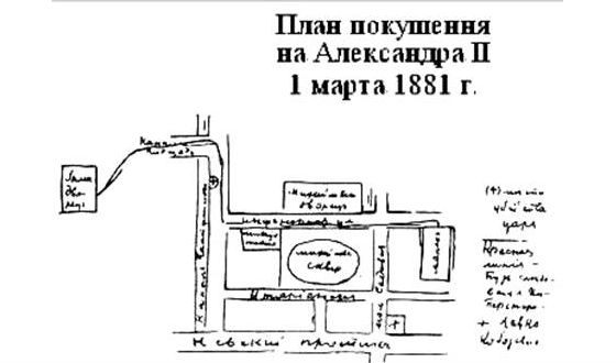 Gesya Gelfman was preparing an assassination attempt on Alexander II
