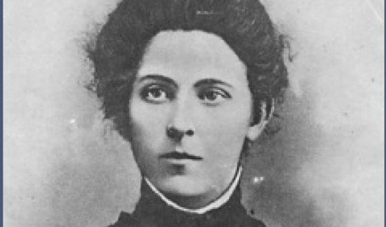 Eserka Maria Spiridonova in her youth