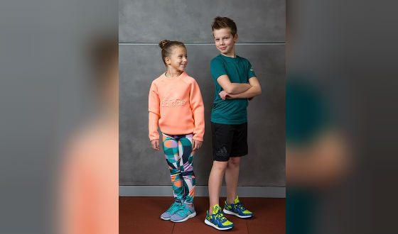 Дети Андрея Аршавина в рекламе Adidas