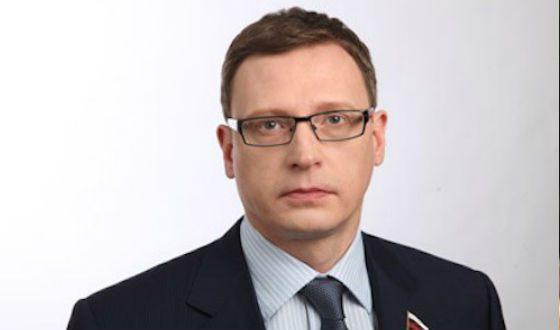 Governor of the Omsk Region Alexander Leonidovich Burkov
