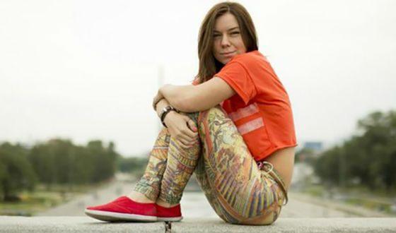 Back in school, Stefania Gurska began performing in KVN