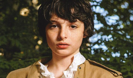 A star of «It» and the series «Stranger Things» Finn Wolfhard