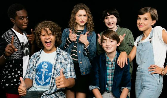The cast of «Stranger Things» in real life