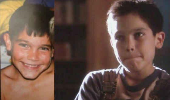Tyler Hacklin in childhood
