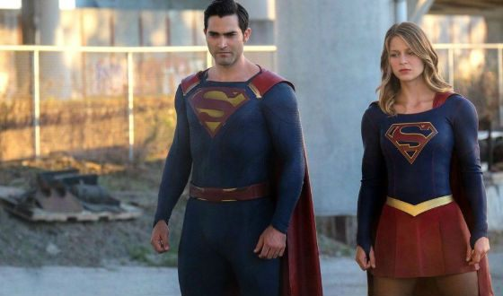 """Shot from the TV series """"Supergirl"""""""