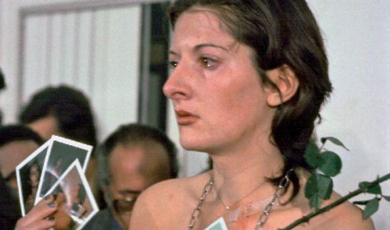 Marina Abramovich's performances are related to border checks