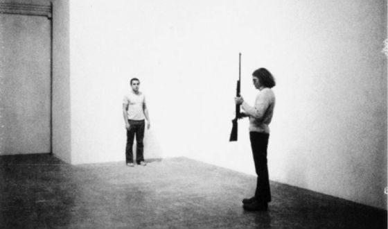 """The work of Chris Berden """"Shot"""""""