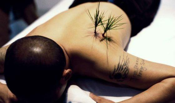 "Performance ""Planting Grass"""