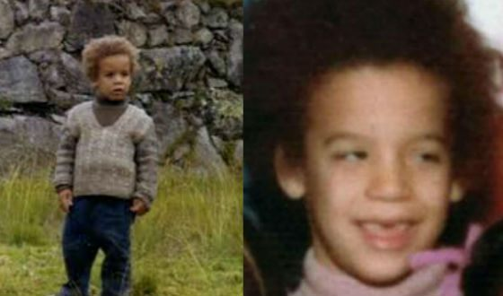 Vin Diesel in childhood