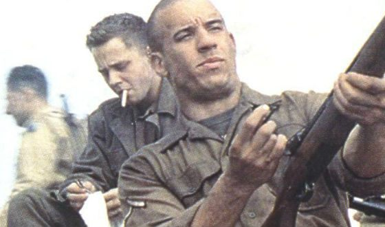 Sergeant Caprisa was the first major role of Vin Diesel