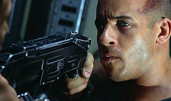 Riddick was one of the most famous images by Diesel