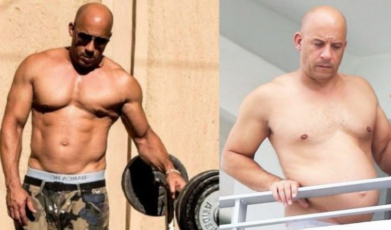 Vin Diesel on screen and in real life