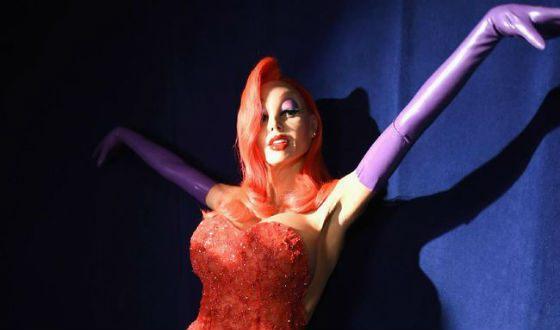 Heidi Klum in Halloween 2015: Jessica Rabbit