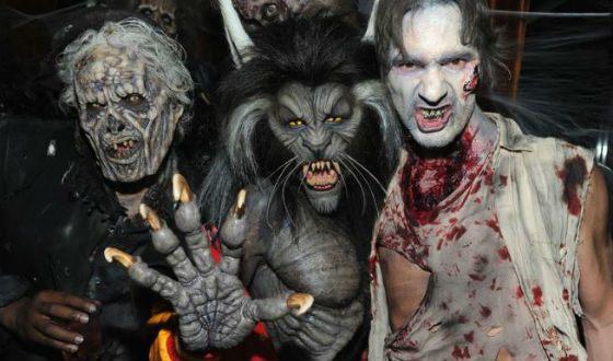Halloween 2017 Heidi Klum: The Werewolf from Michael Jackson's Thriller