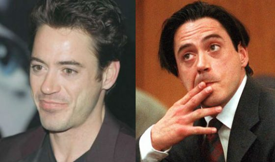 Downey was declared persona non grata because of his drug addiction