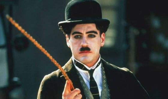Robert Downey Jr. as Charlie Chaplin