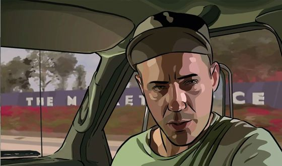 A scene from «A Scanner Darkly»