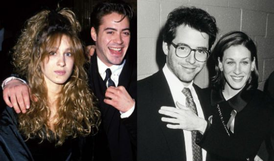 Sarah Jessica Parker and Robert Downey Jr. dated for 7 years
