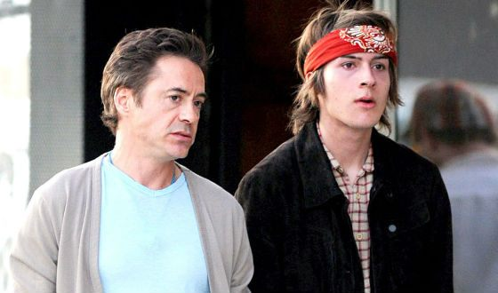 Indio, the eldest son of Robert Downey, also got involved in trouble because of drug using