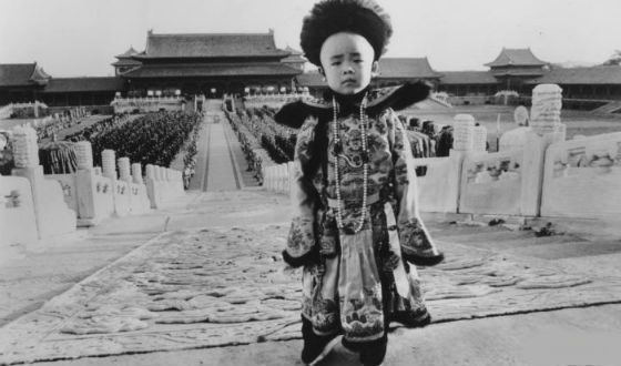 The last emperor of China Pu Yi was crowned at the age of two