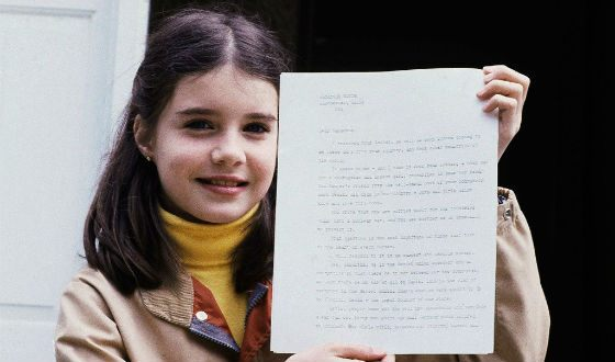 Samantha Smith wrote a letter to Yuri Andropov