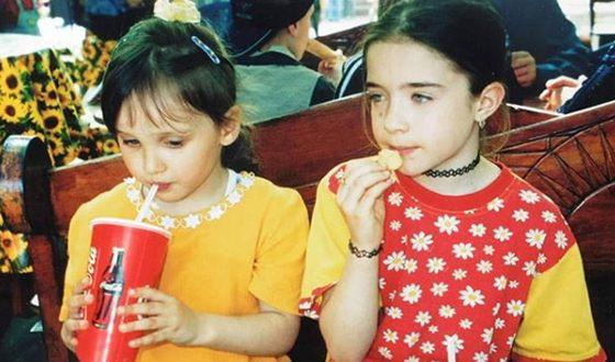 Children's photo of Sonia Metelitsa (right)