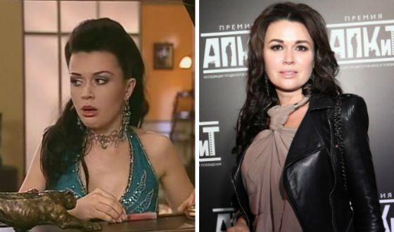 "Anastasia Zavorotnyuk works in the theater and cinema, but remember her as ""Nanny Vika"""