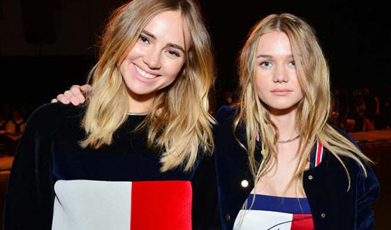 Suki Waterhouse and her sister Immy