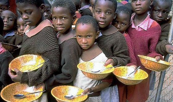 Каждый восьмой житель Земли засыпает голодным