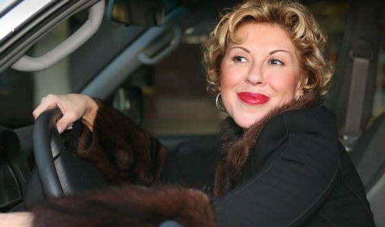 Lyubov Uspenskaya is fond of plastics