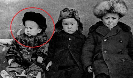 Sooronbay Jeenbekov in childhood