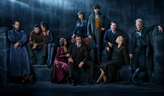 The cast of the new film about the Harry Potter universe