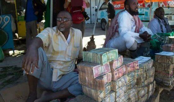 Денежный рынок в Сомали: валюта обесценилась до невероятности