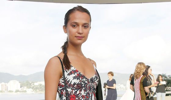 Alicia Vikander without a makeup