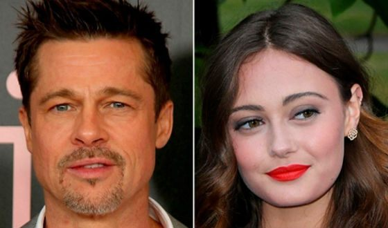 Brad Pitt and Ella Purnell