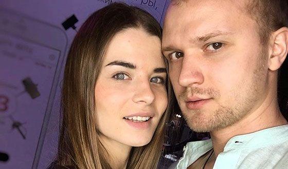 Valeria Burduja and her husband Dmitry