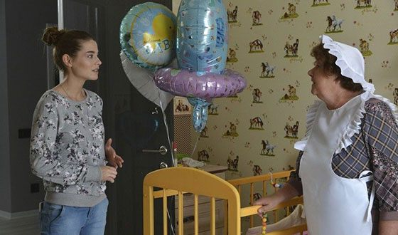 "Valeria Burduzhu in the TV series ""Swing"""