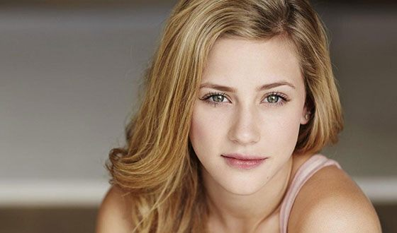 The young actress Lili Reinhart
