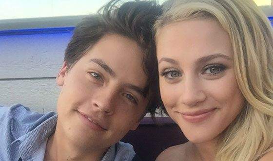 Lili Reinhart and her Cole Sprouse