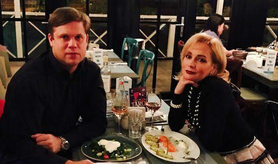 In the photo: Tatiana Bulanova and Vladislav Radimov