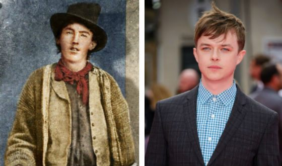 Billy the Kid and Dane Dehaan