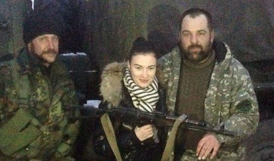 Приходько с украинскими военными
