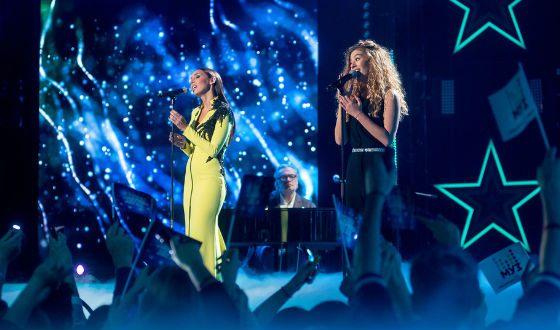 Uliana Sinetskaya sang a duet with Alsou