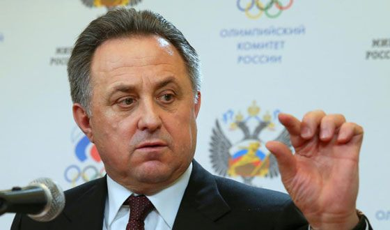 Vitaly Mutko was banned for life from coming to the Olympic Games