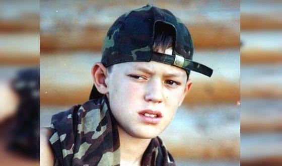 Neil Kropalov in childhood