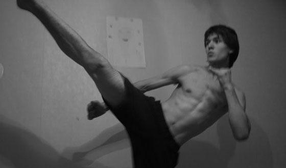 Neil Kropalov kickboxing