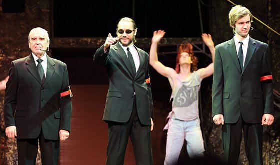 "Neil Kropalov staged ""Jesus Christ - superstar"""