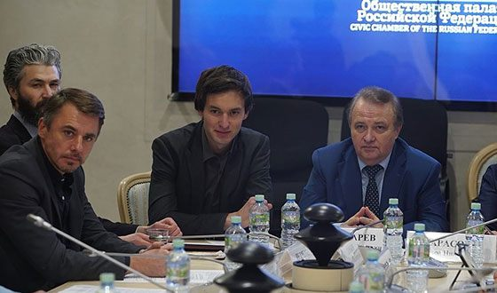 Neil Kropalov in the Commission for the Development of Culture